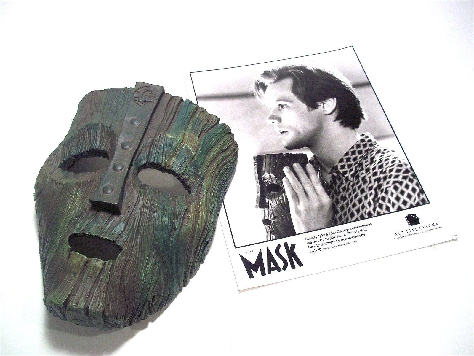 The Mask Loki Mask 1/1 Screen accurate Cast off Original Used