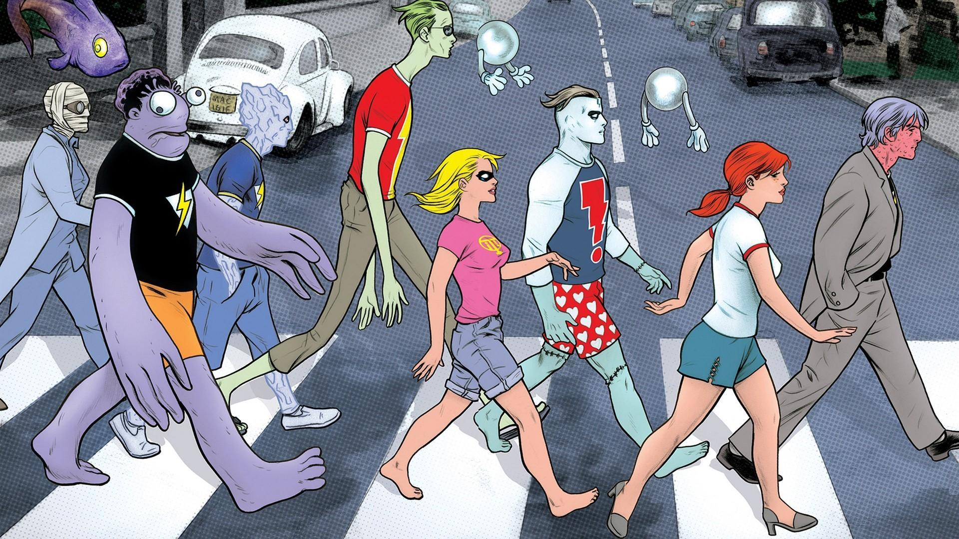Abbey road comics image madman wallpapers