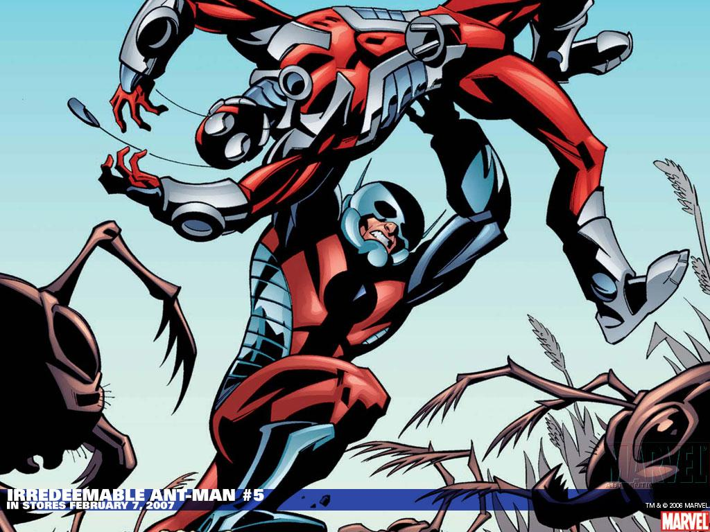 Powerpoint Backgrounds of the Marvel Superhero: Ant