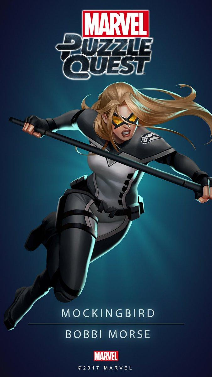 Marvel Puzzle Quest on Twitter: Add the versatile Mockingbird