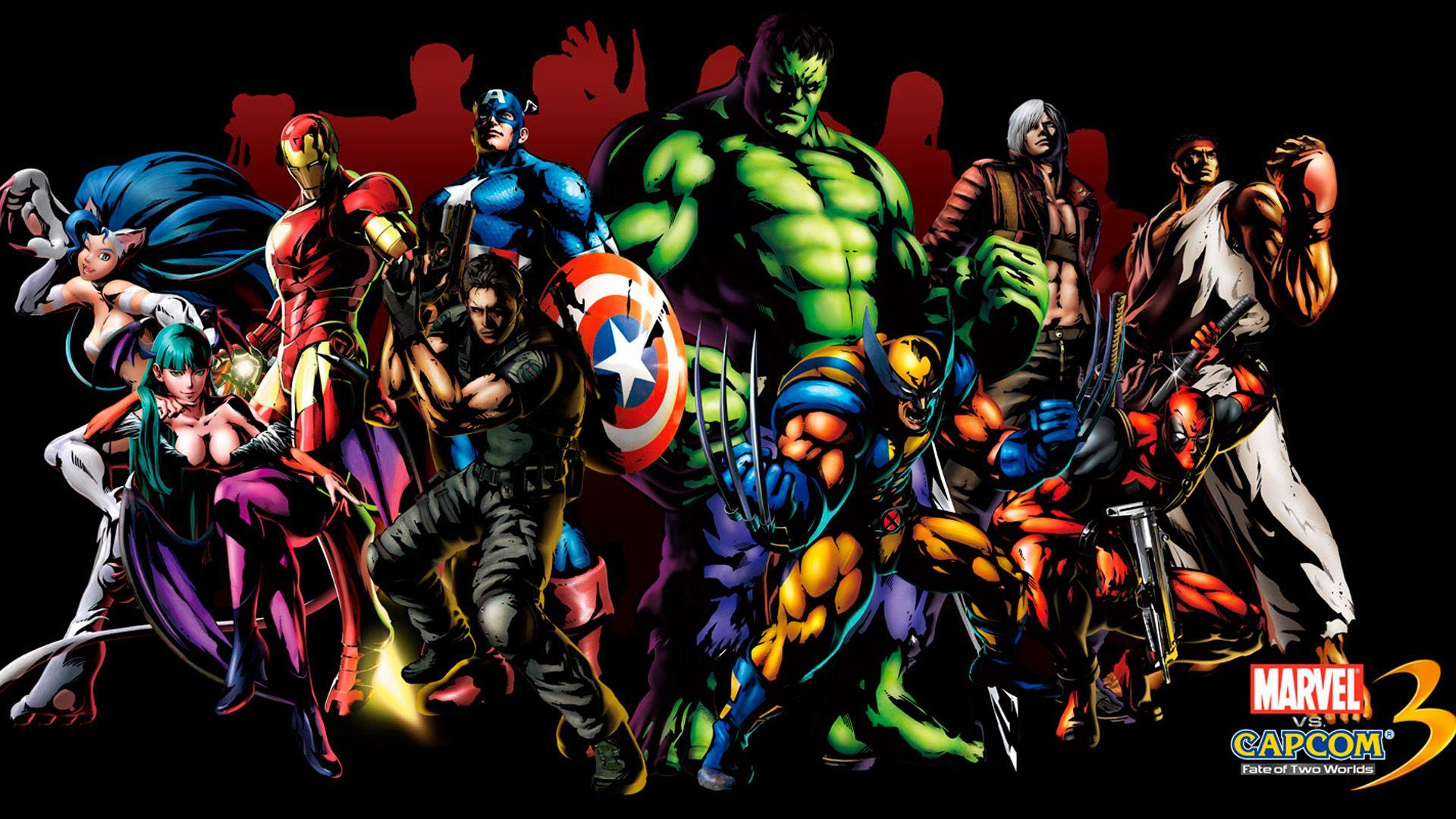 Marvel Cartoon Wallpapers Group