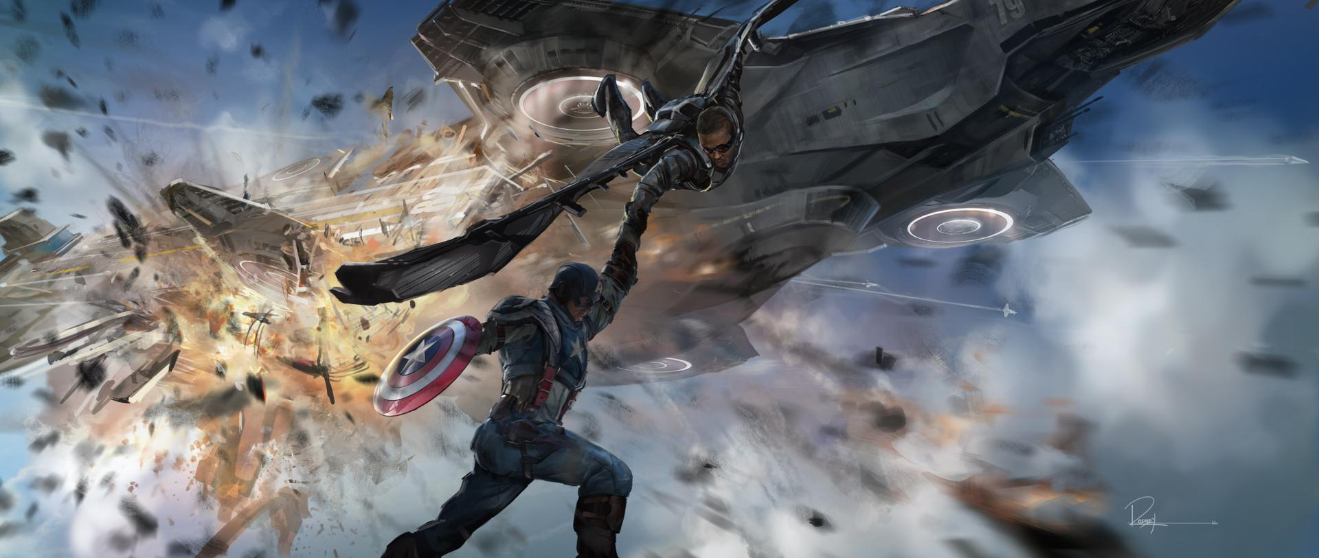 Captain America: The Winter Soldier' Concept Art – /Film