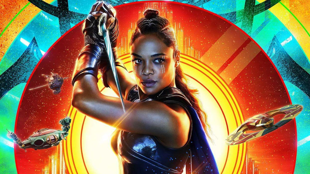 Tessa Thompson Thor Ragnarok Valkyrie wallpapers