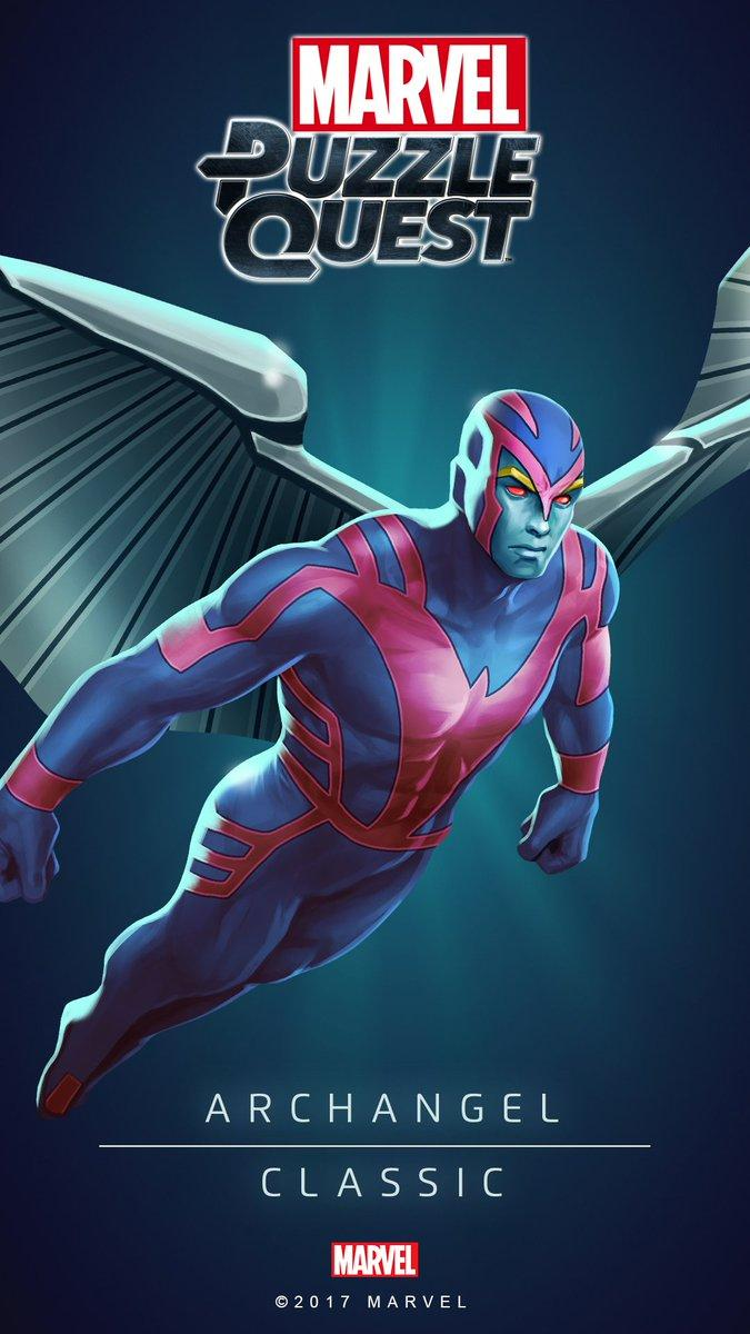 Marvel Puzzle Quest on Twitter: The Angel and Archangel wallpapers ...