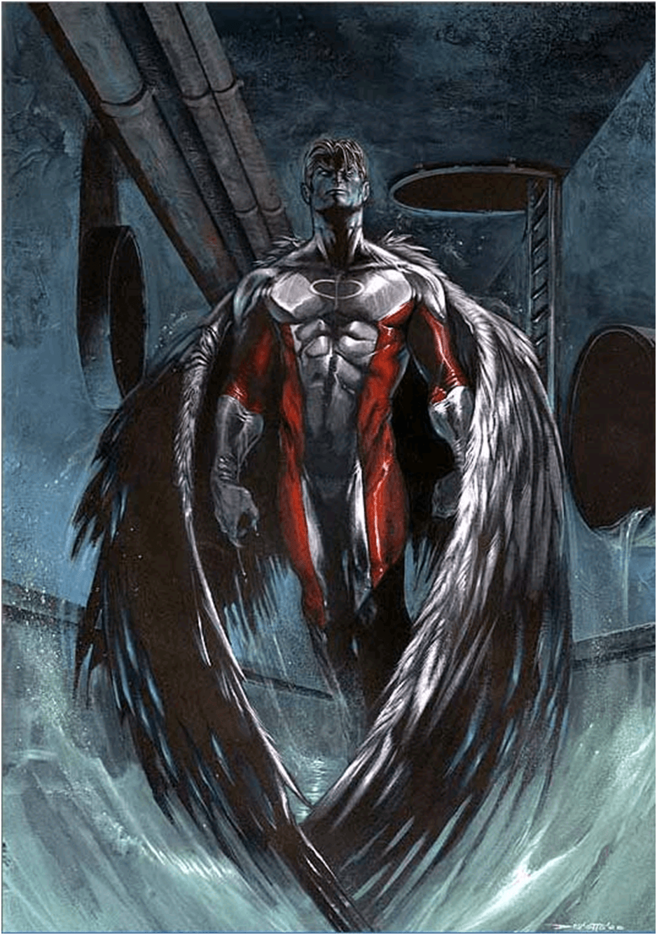 Another pic of the Xmen's Archangel. | Comic / Video Art | Marvel ...