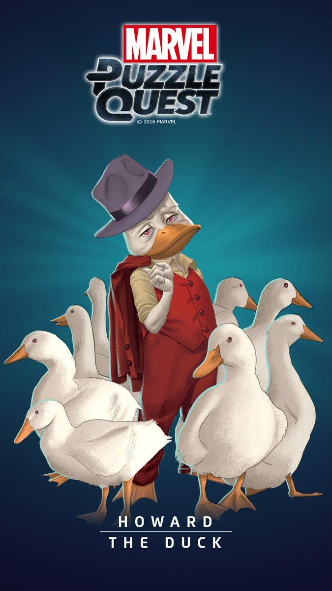 Bill Rosemann on Twitter: These @MarvelPuzzle Howard the Duck