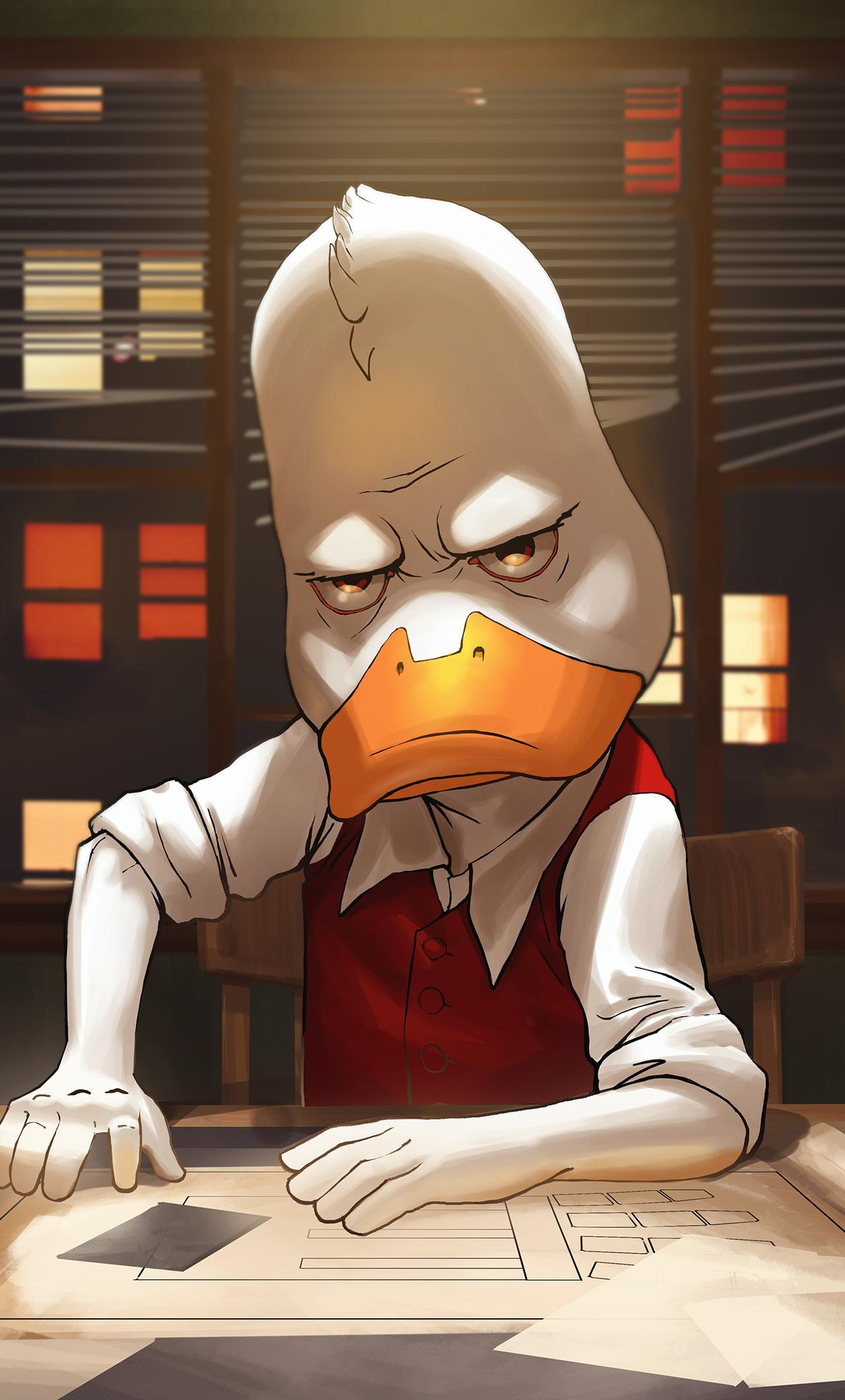 1280x2120 Howard The Duck Contest Of Champions iPhone 6+ HD 4k