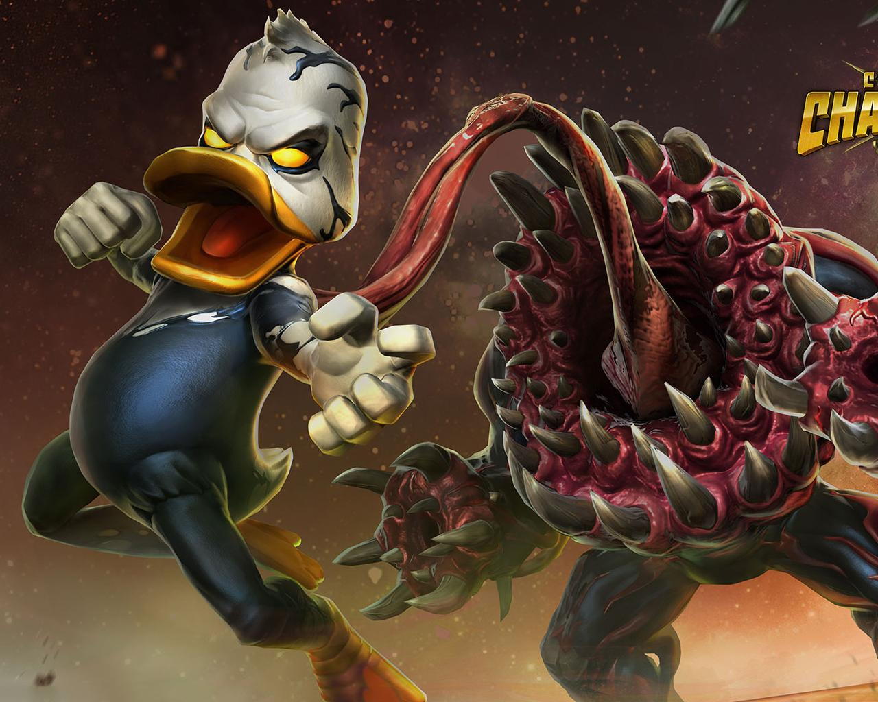1280x1024 Venom The Duck Contest Of Champions 1280x1024 Resolution