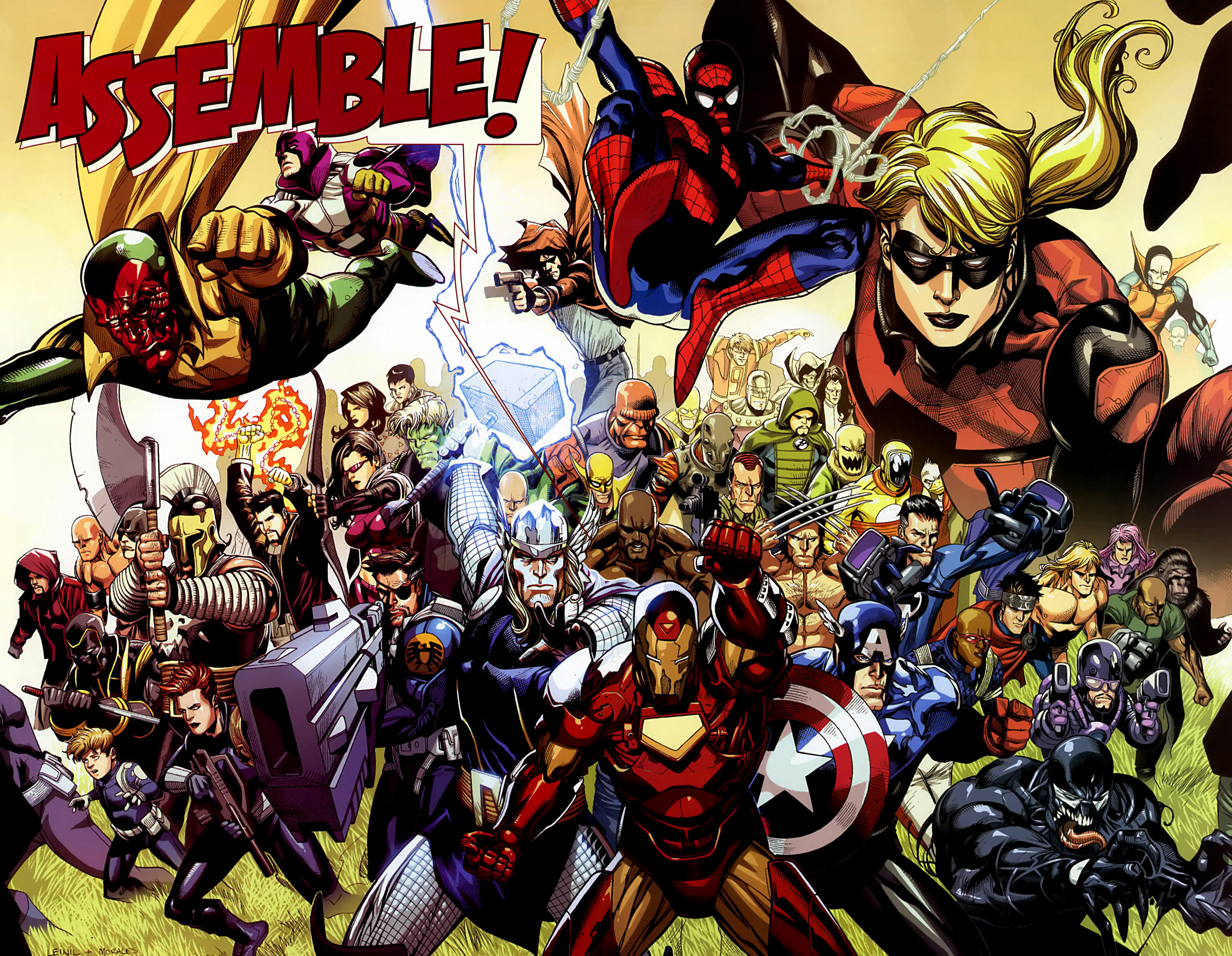 Marvel Heores Wallpapers