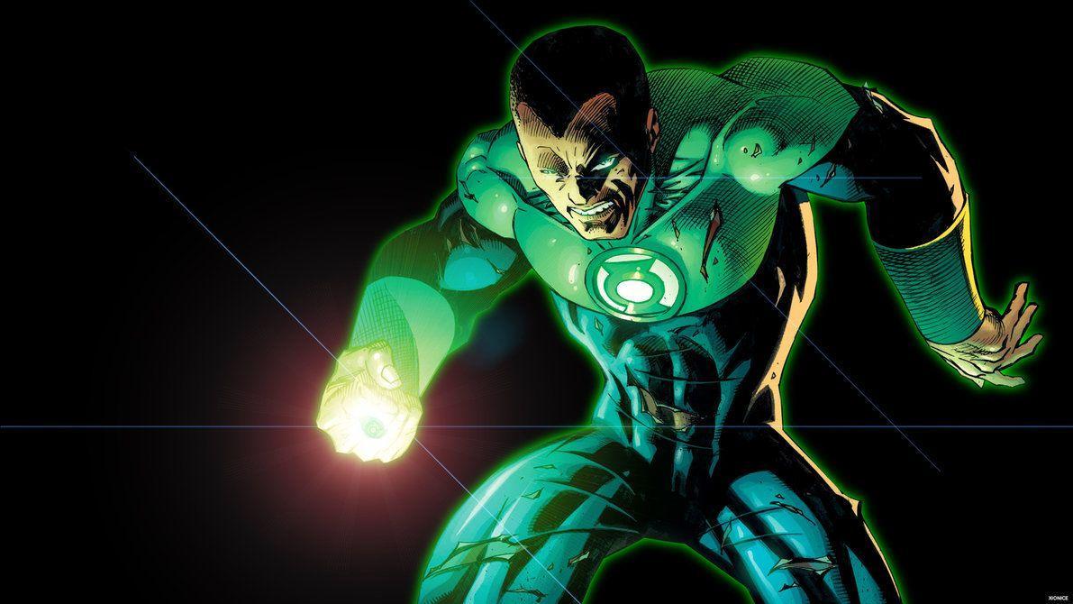 Green Lantern John Stewart Wallpapers Wallpaper Cave