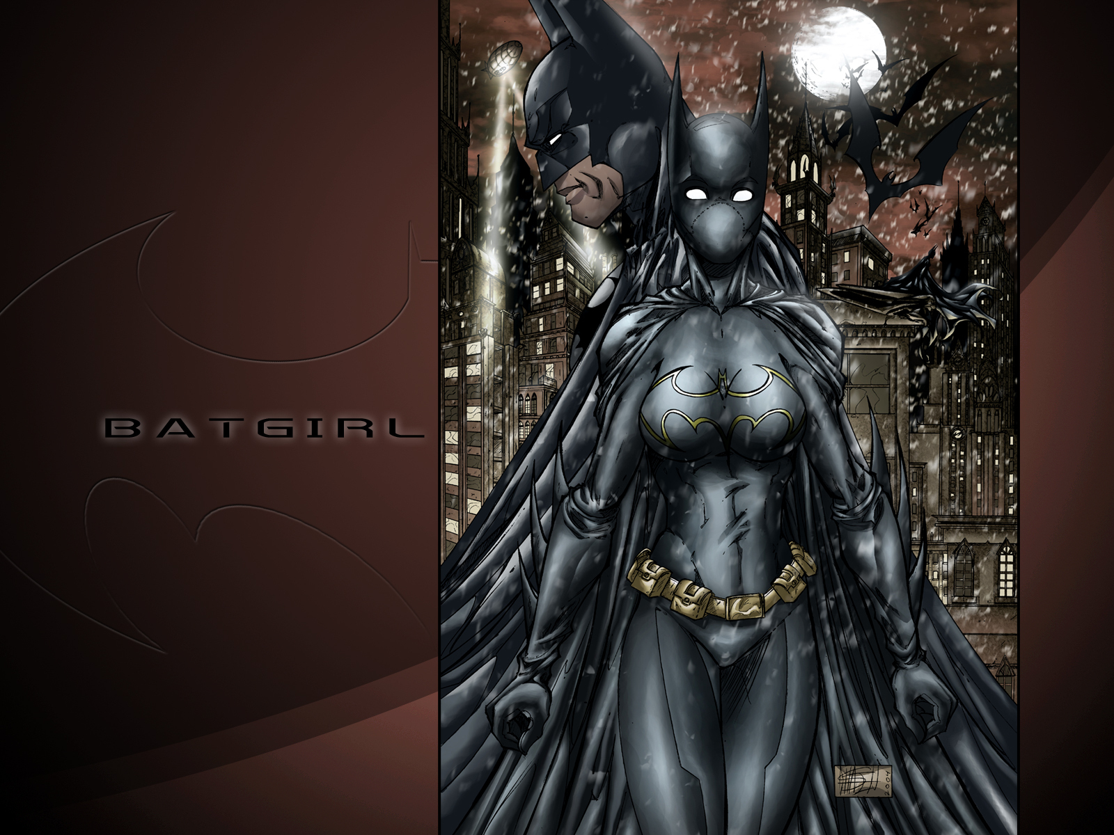 Gotham Girls images Batgirl Fan Art HD wallpaper and background ...