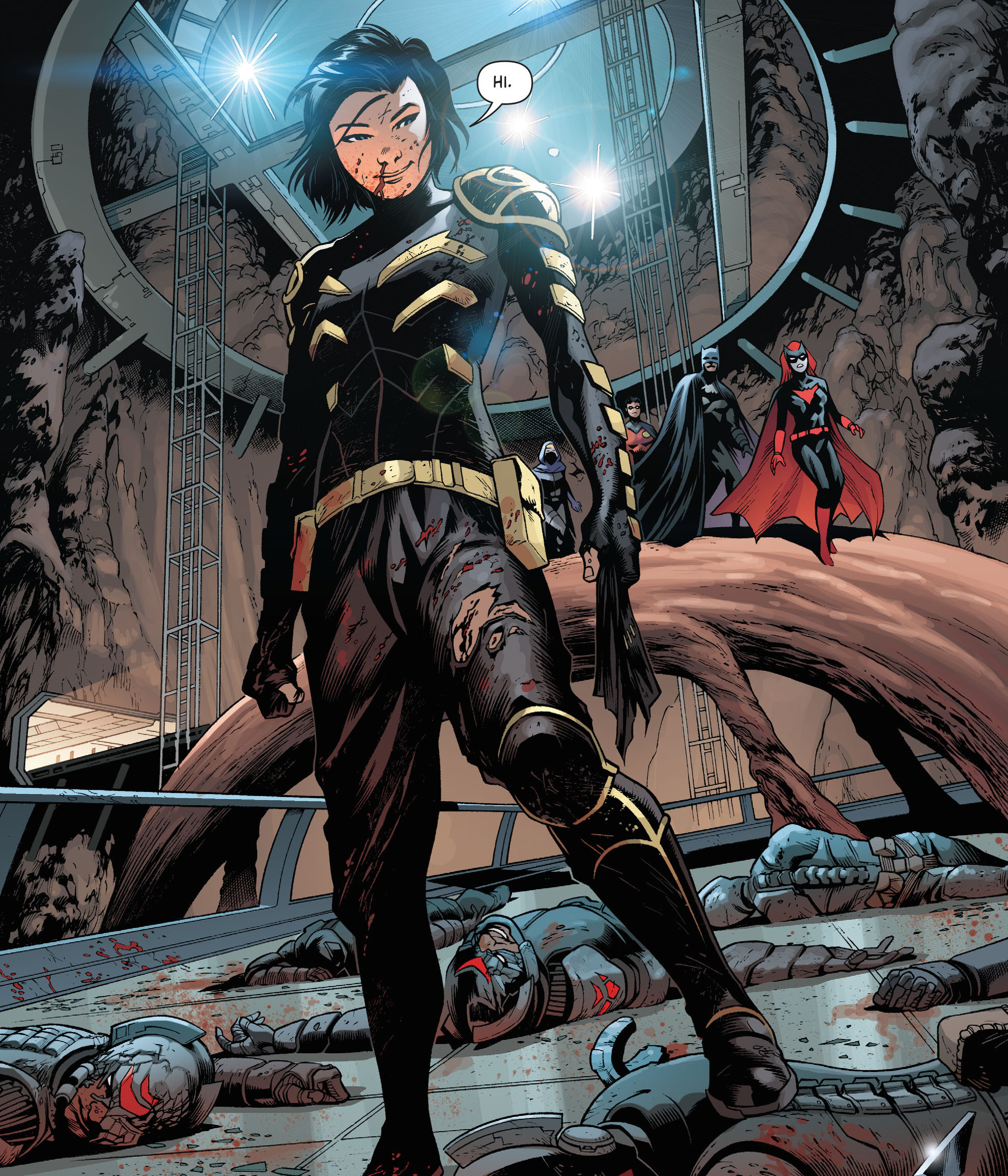 Scan Battle] Cassandra Cain (DC) vs Führer King Bradley (Fullmetal ...