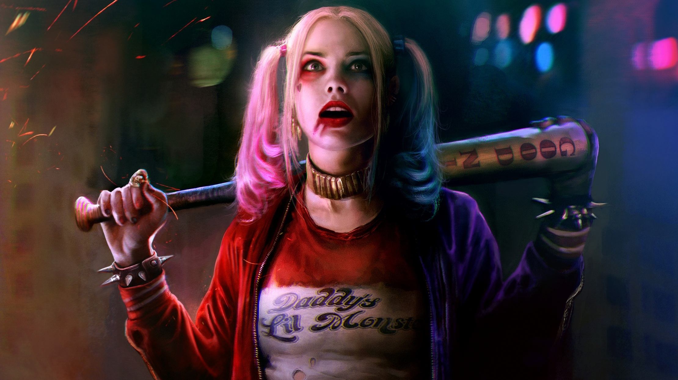 Wallpaper Harley Quinn, Margot Robbie, Suicide Squad, Movies, #1147