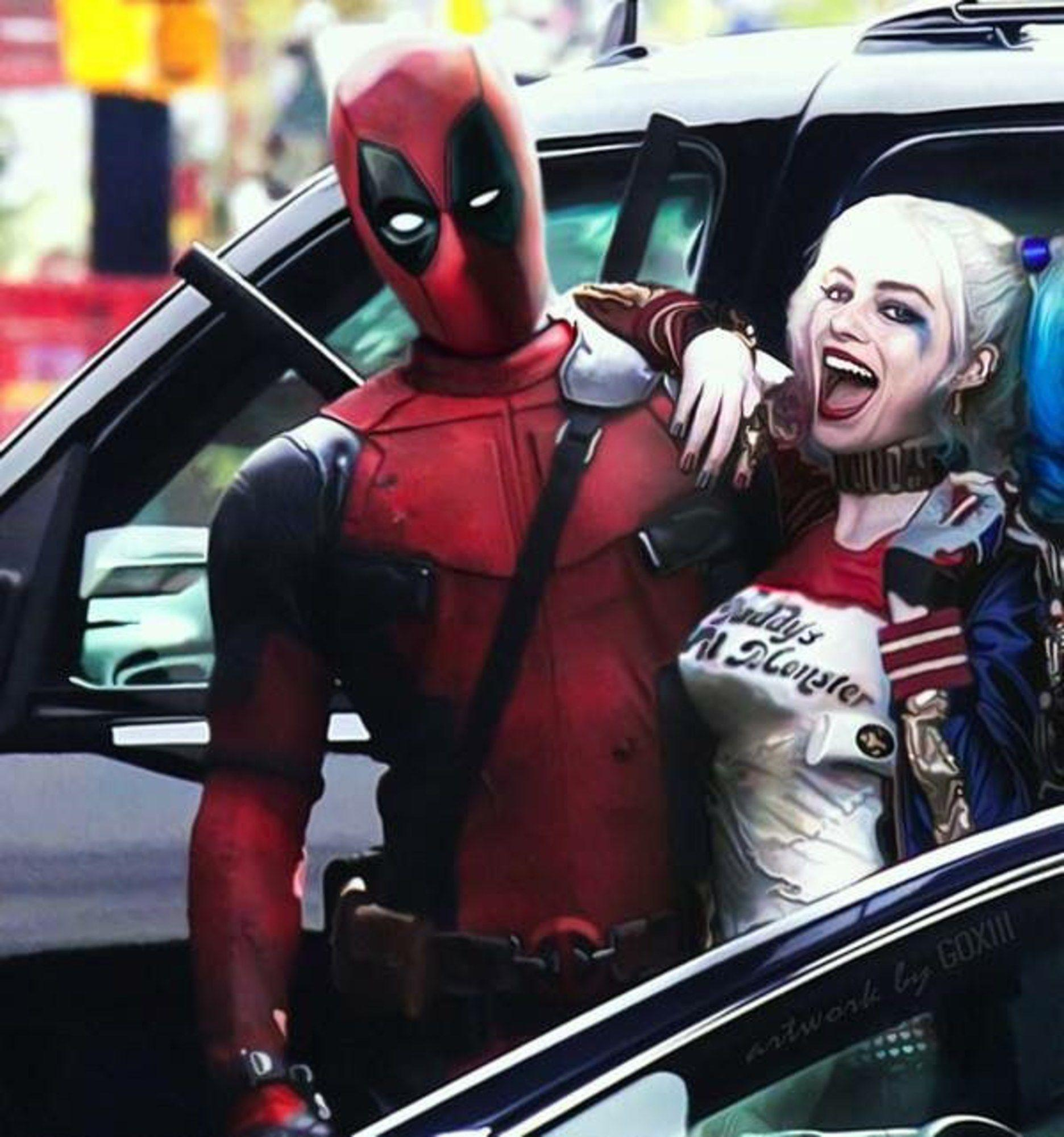 Deadpool and Harley Quinn Wallpapers - Top Free Deadpool and Harley ...