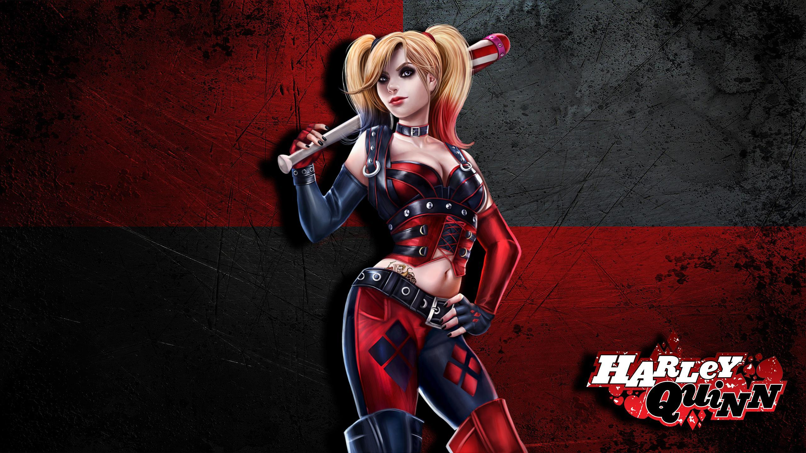 Harley Quinn wallpaper I made and thought I would share =] : HarleyQuinn