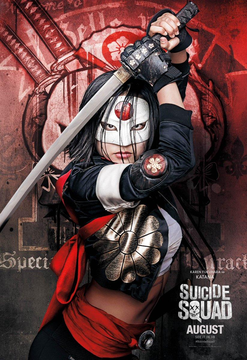 Suicide Squad images Suicide Squad Character Poster - Katana HD ...