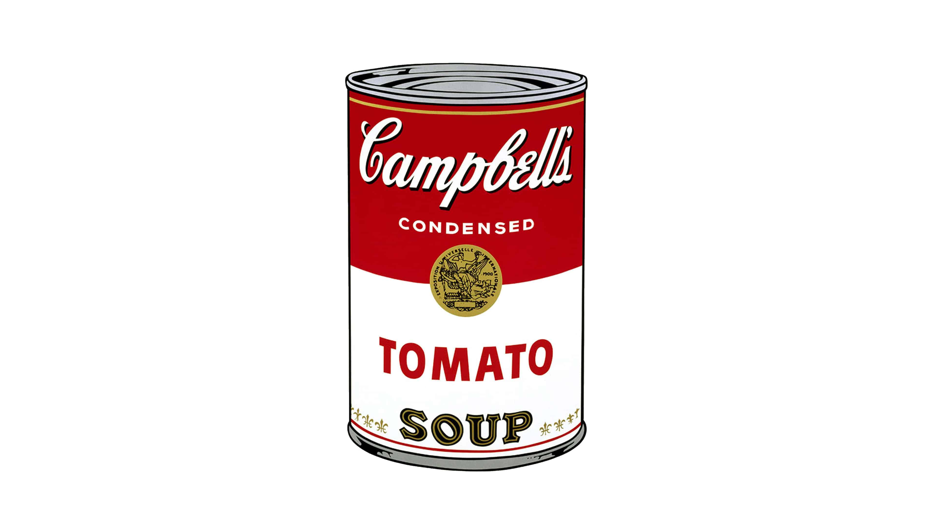 Campbells Soup Can Andry Warhol UHD 4K Wallpapers