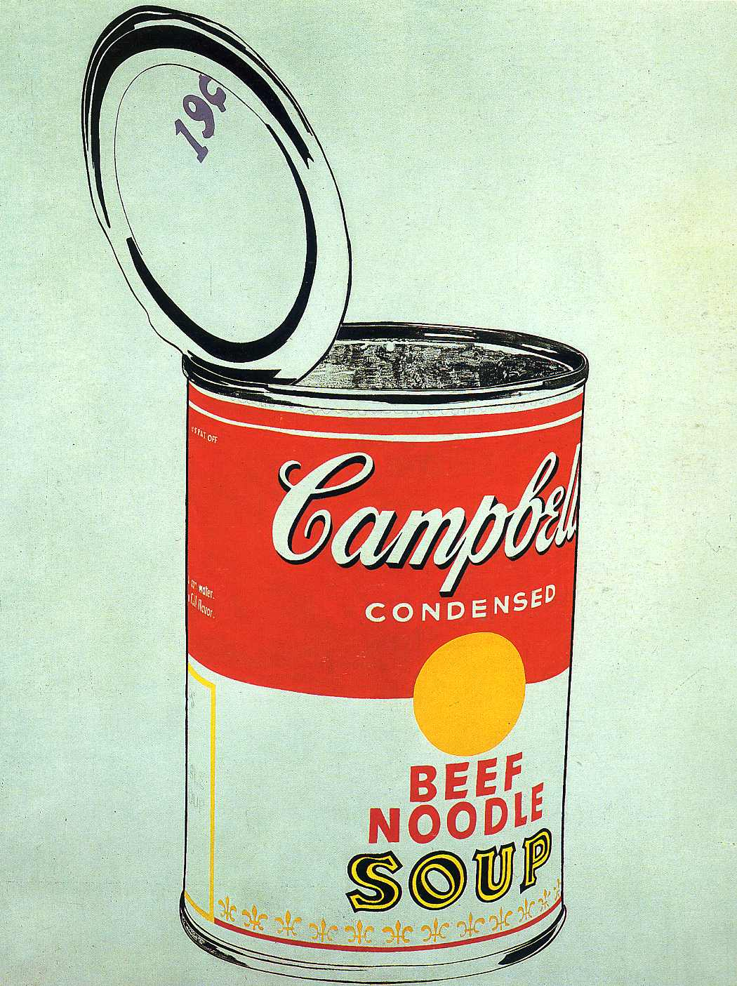Open Can Of Campbells Soup