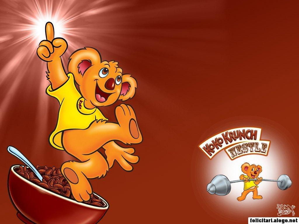 free wallpapers Chocolate Factory Nestle Kokokrunch 1024 x 768