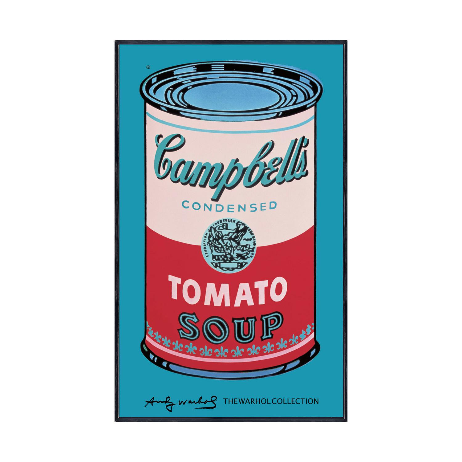 Campbell's Soup Can // 1965 // Pink & Red