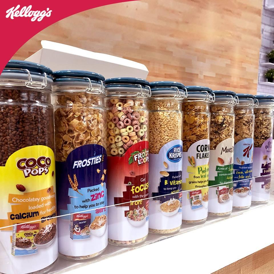 Kellogg's opens their first SouthEast Asian cereal cafe in Ang Mo