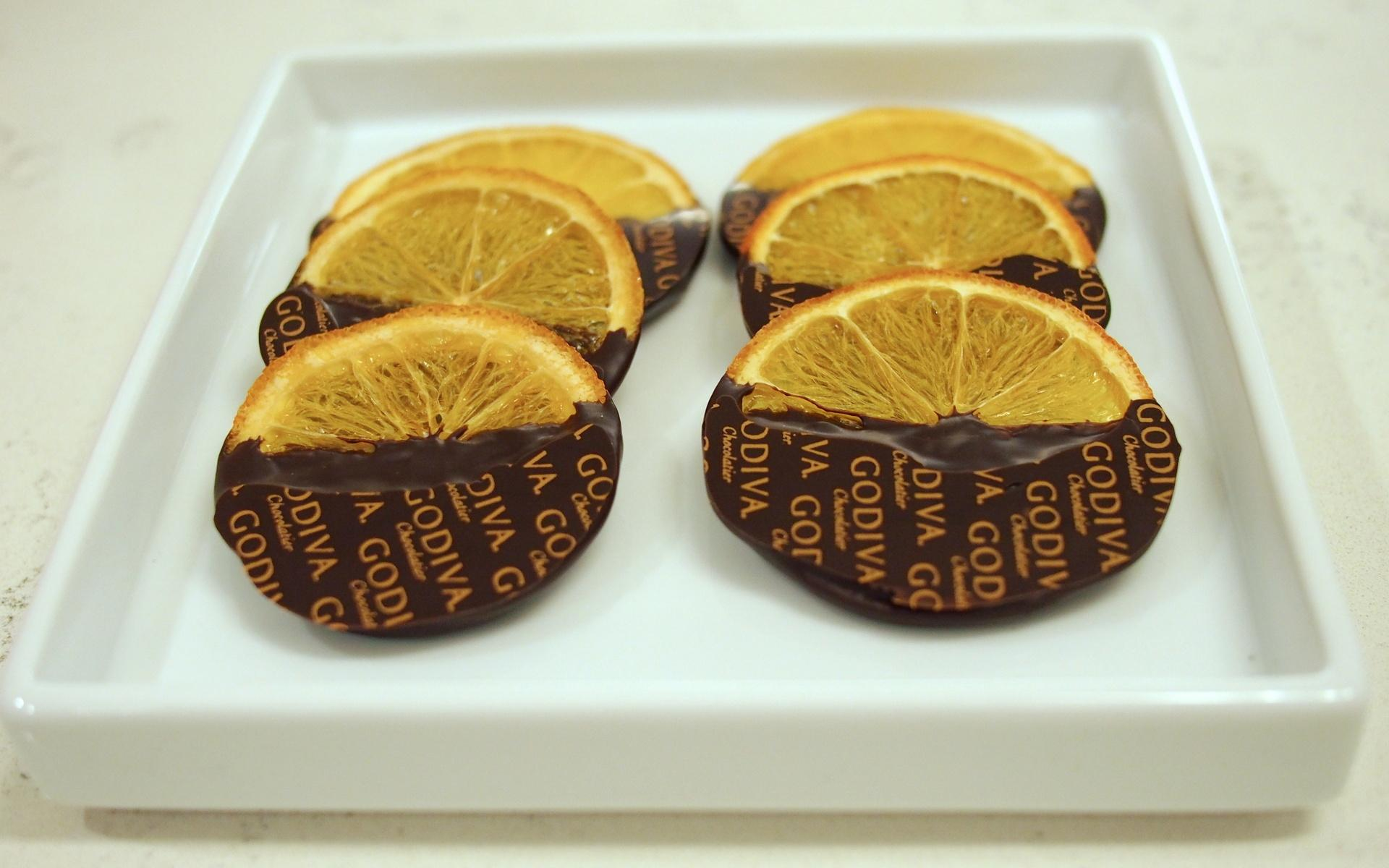 1920x1200 Godiva, Godiva Logo, Chocolate Orange, Godiva Chocolate