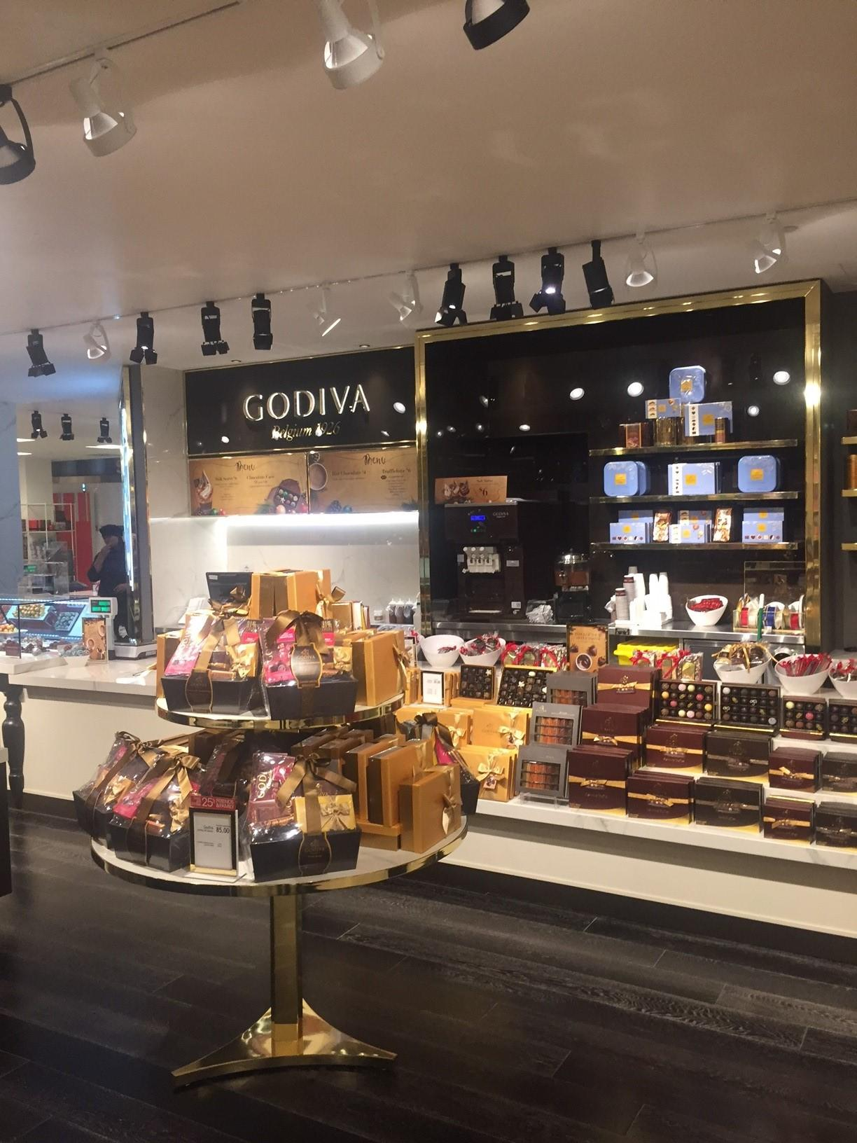 Godiva Store Projects