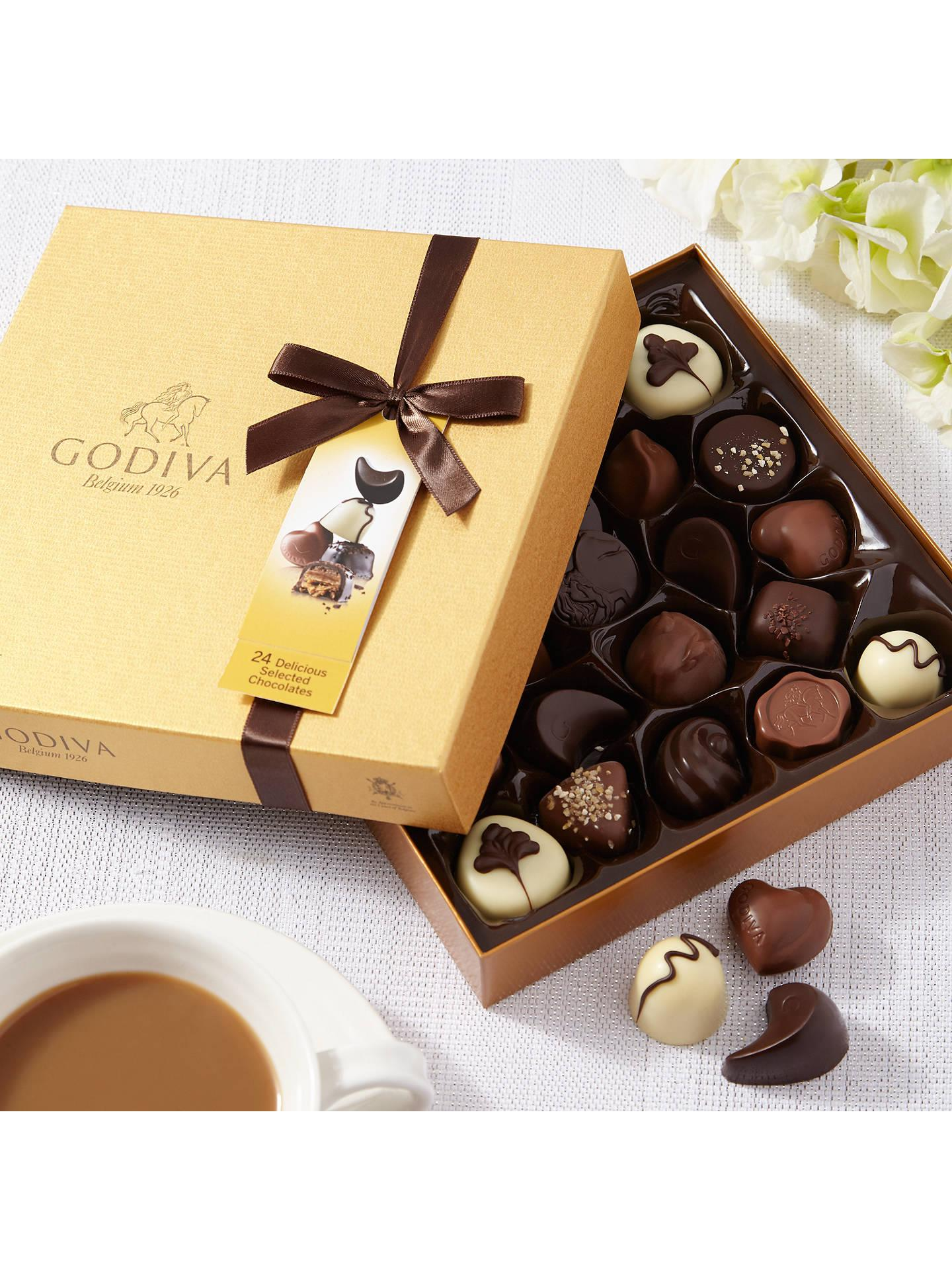 Godiva Gold Chocolate Box, 290g at John Lewis & Partners