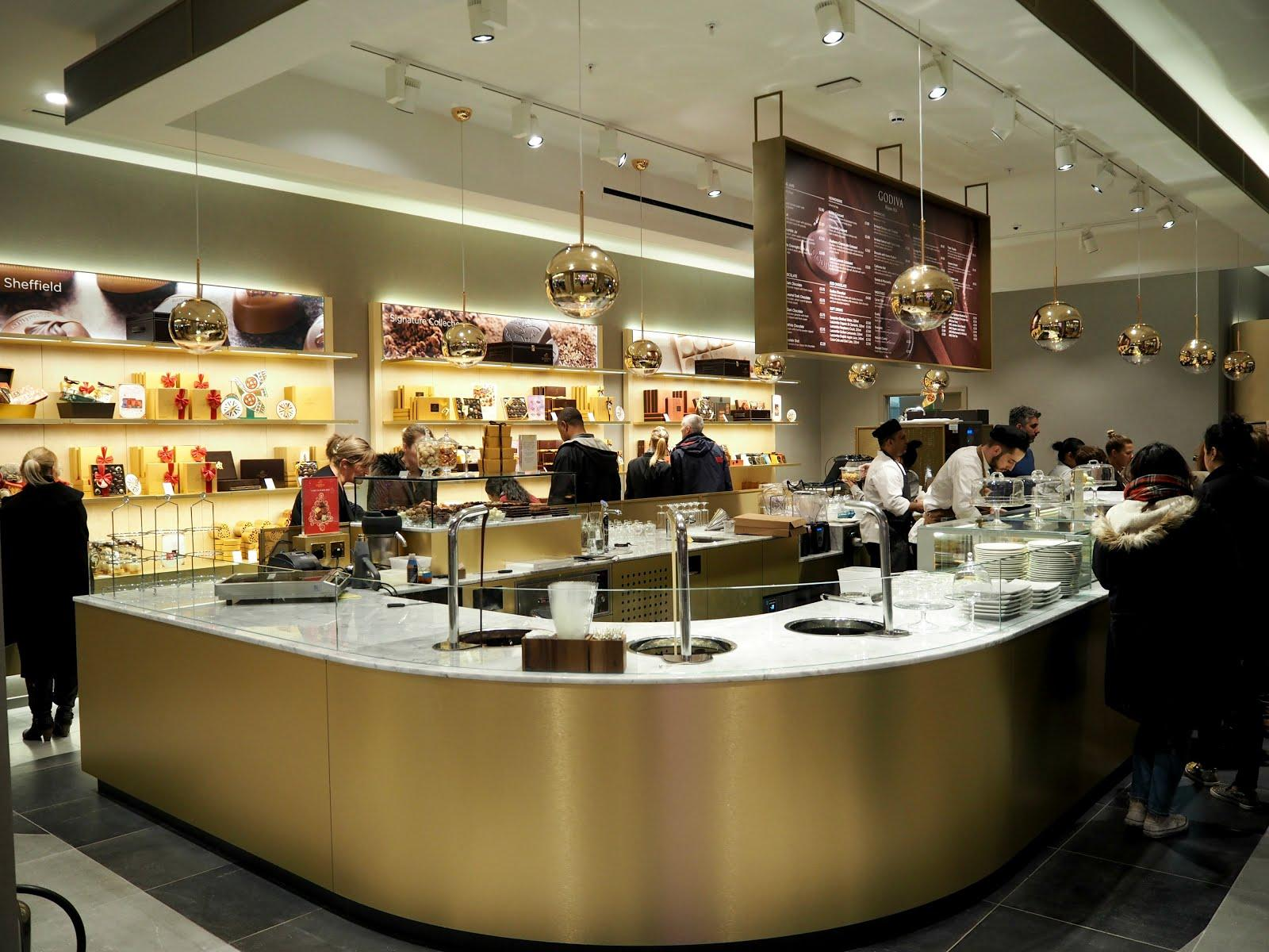 New to Meadowhall... Godiva Chocolate Cafe