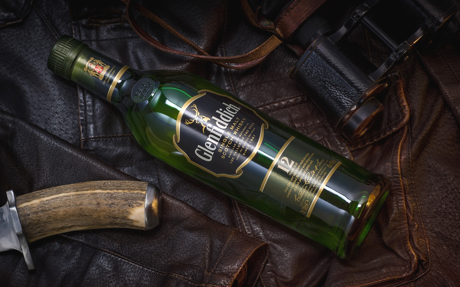 whisky, Alcohol, Bottles, Glenfiddich Wallpapers HD / Desktop and