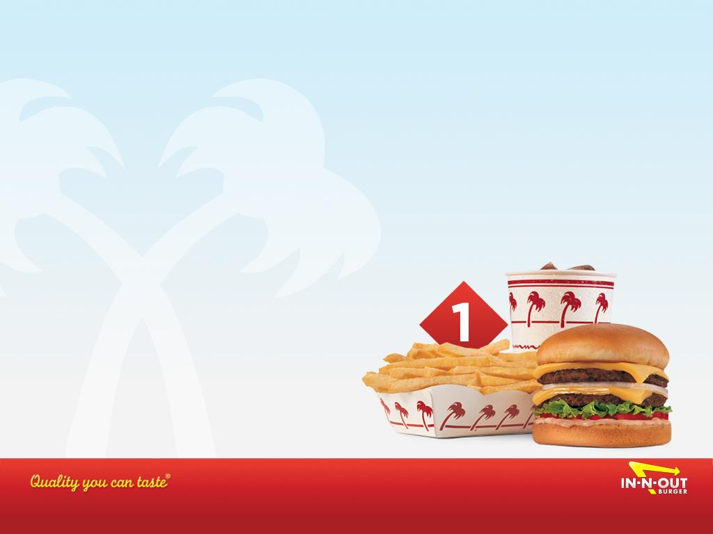 Download Wallpaper - Combo #1 Crossed Palms - In-N-Out Burger