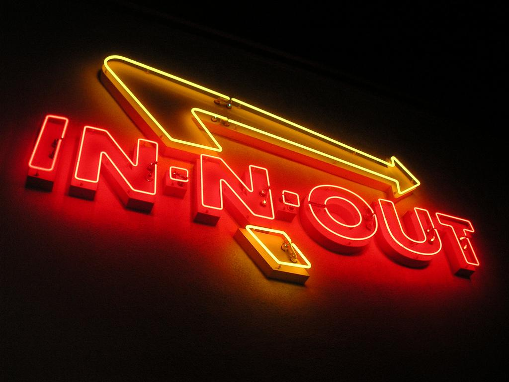 In-N-Out in Neon (Irvine) | In-n-Out Burger was California's… | Flickr