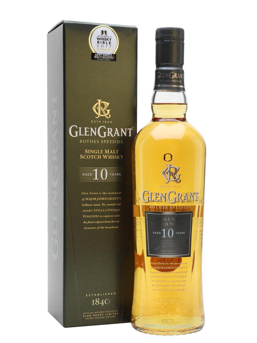 Glen Grant 10 Year Old Scotch Whisky : The Whisky Exchange