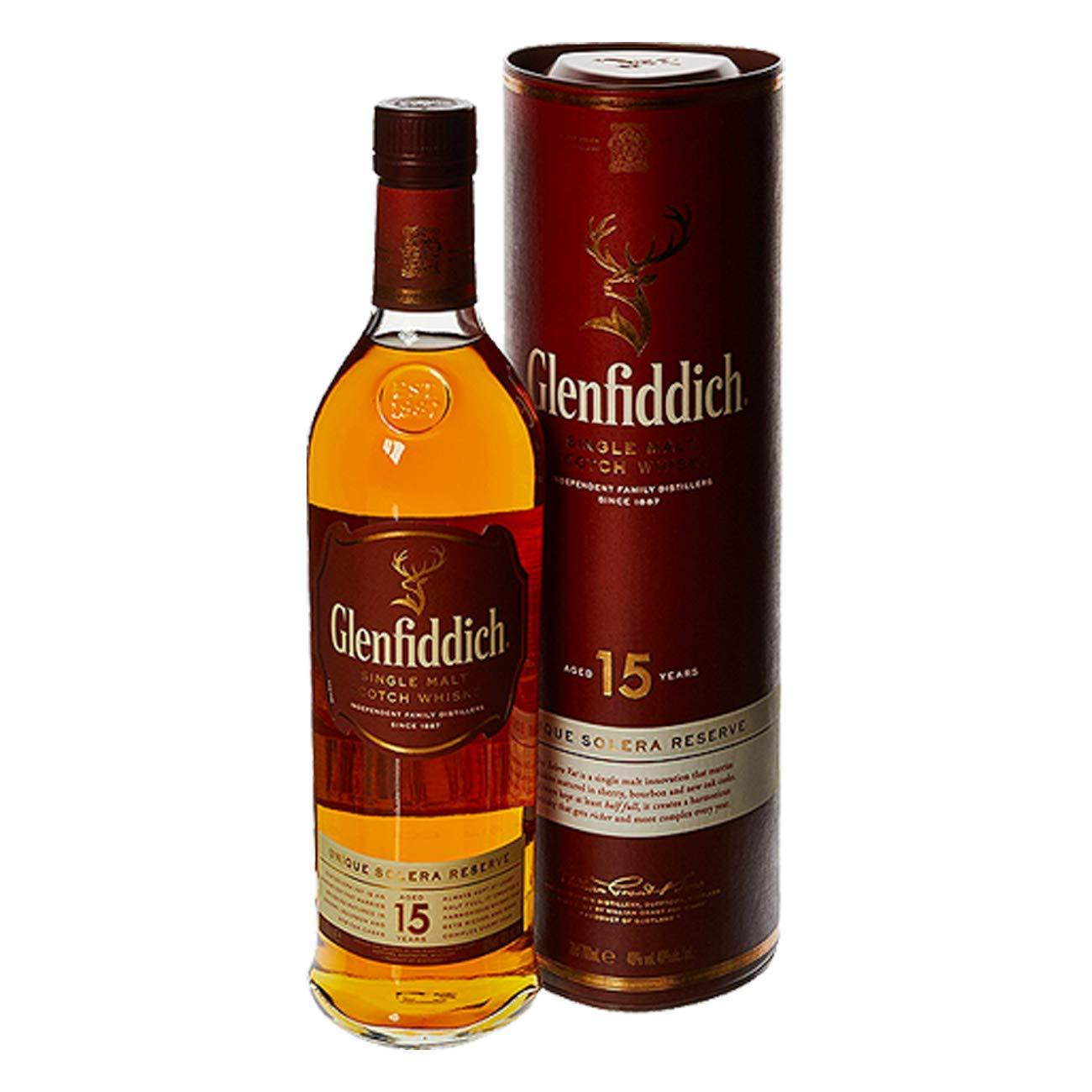Glenfiddich 15 Year Old Scotch Whisky, 70 cl: Amazon.co.uk: Grocery
