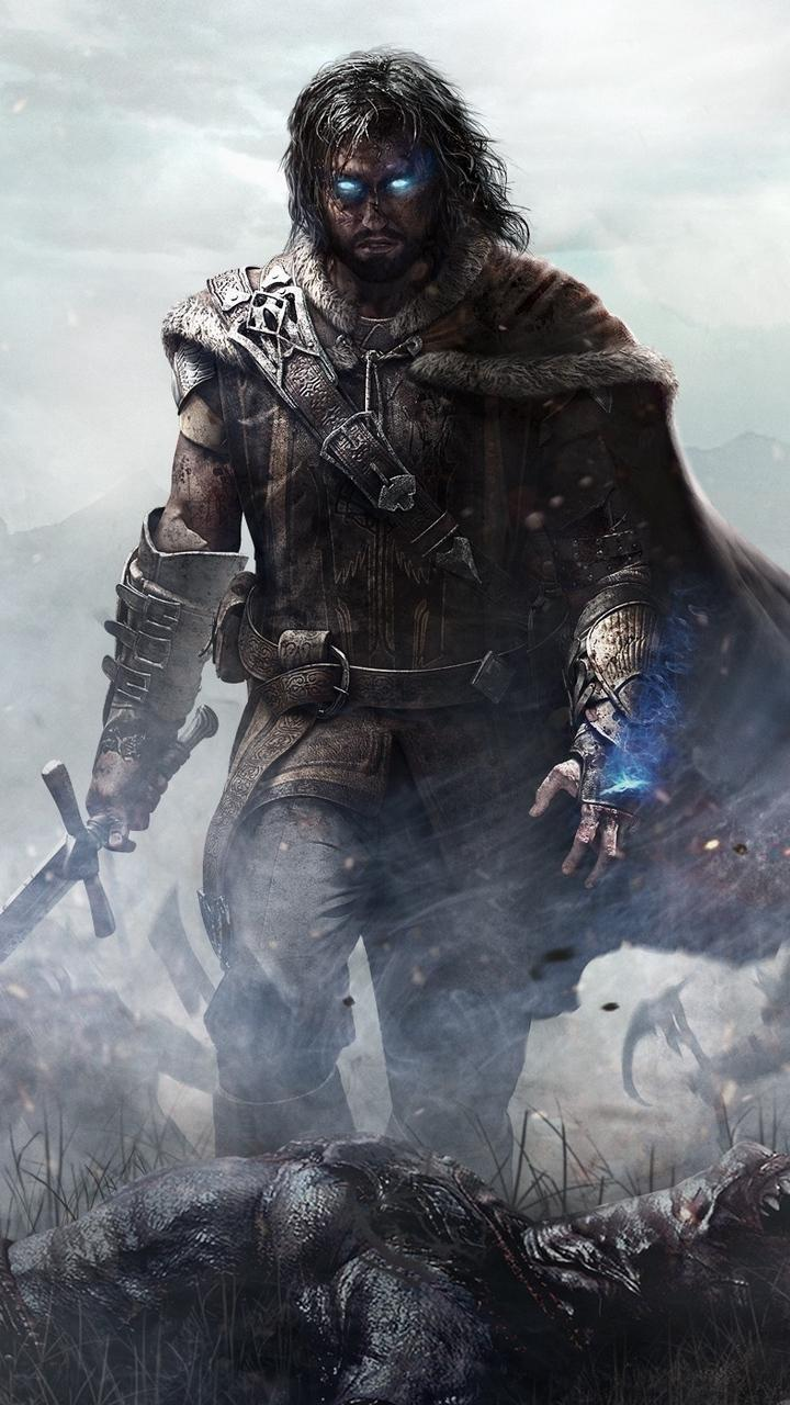 Download wallpaper 720x1280 middle-earth shadow of mordor, monolith ...