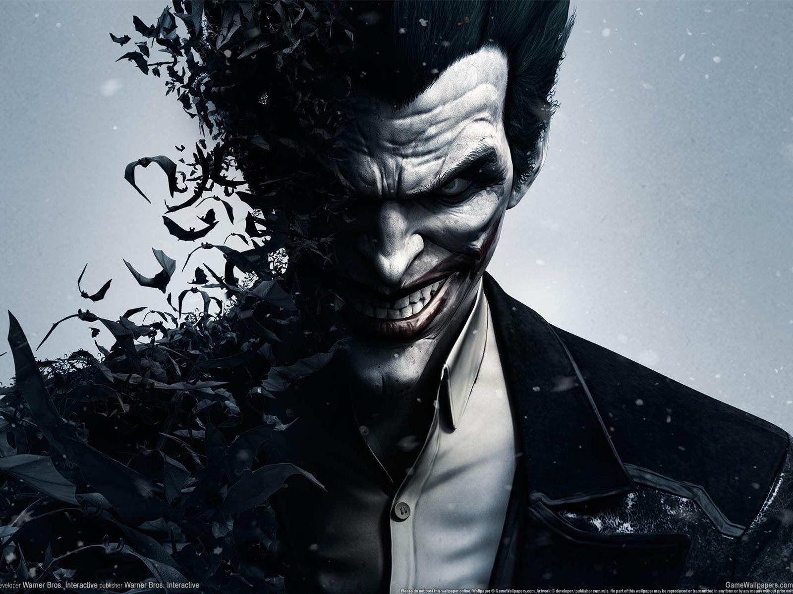 1600x1200 Wallpaper batman arkham origins, joker, red cap, warner ...