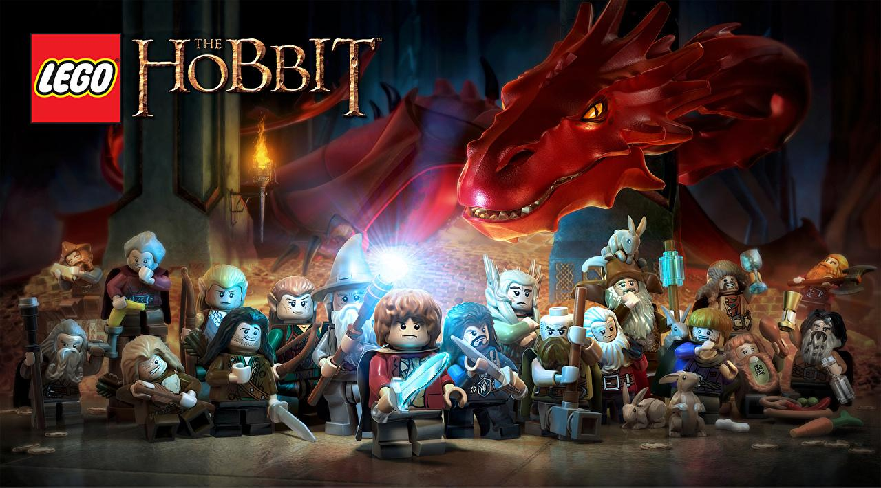 Images Dragons LEGO The Hobbit Bilbo Warner Bros Interactive