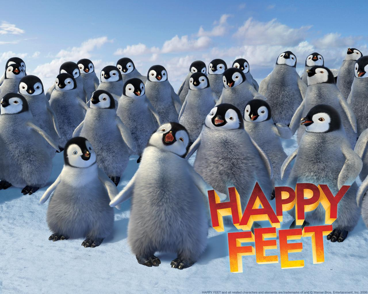 Wallpapers | Happy Feet - Warner Bros.