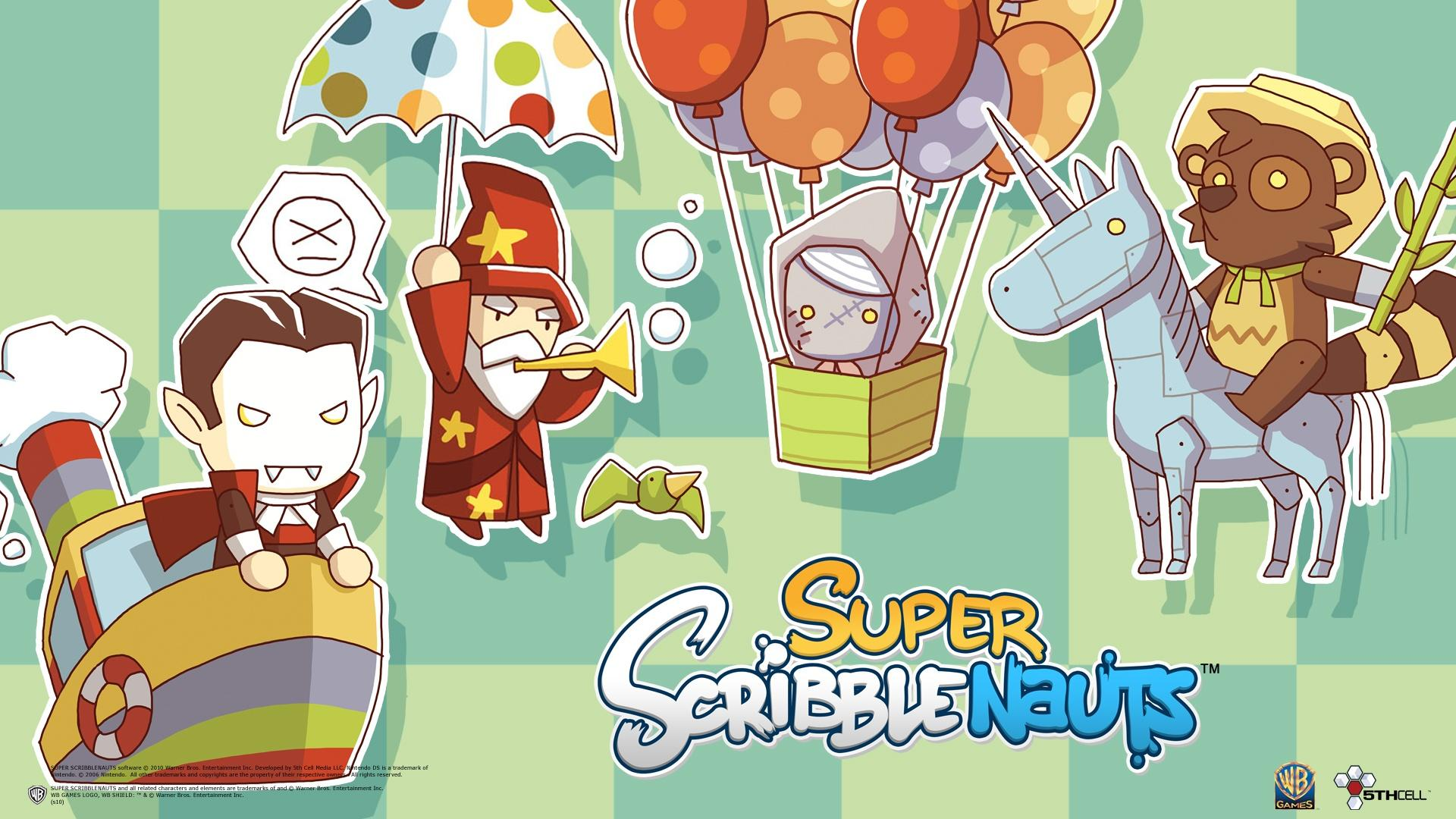 Brighten Up Your Dull Desktop with Super Scribblenauts Wallpaper ...