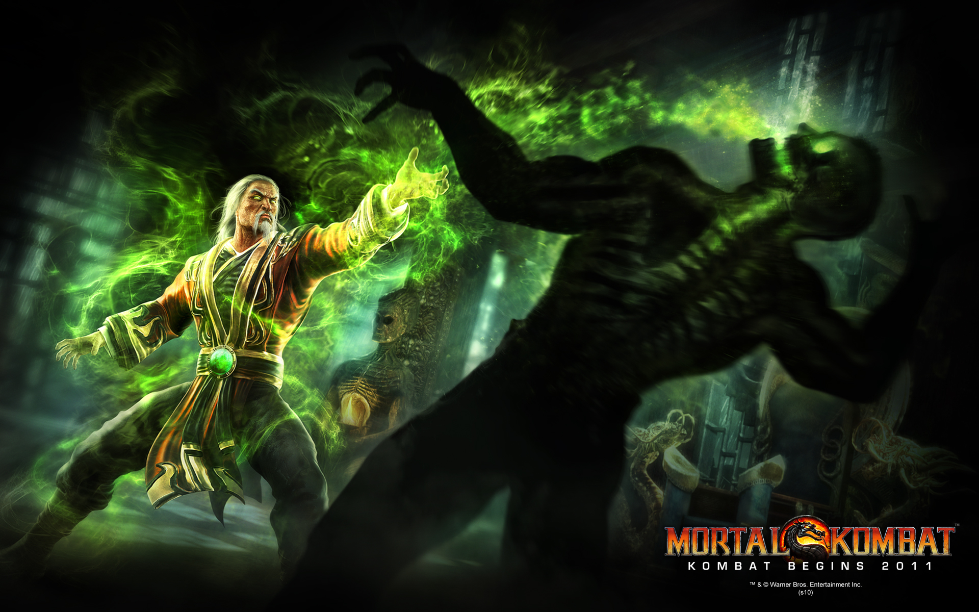 FDMK - Mortal Monday: Another Shang Tsung Wallpaper Released