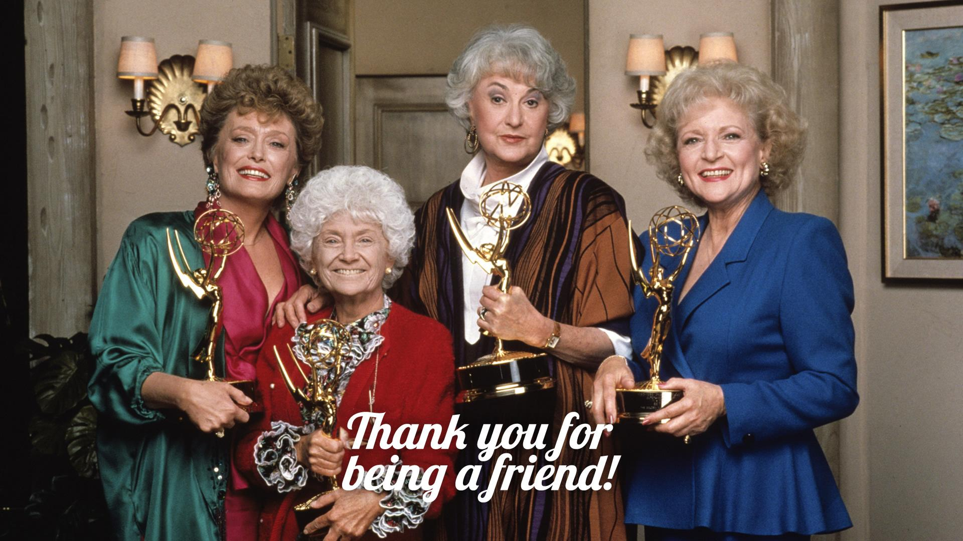 The Golden Girls Cast with Awards HD Wallpapers » FullHDWpp