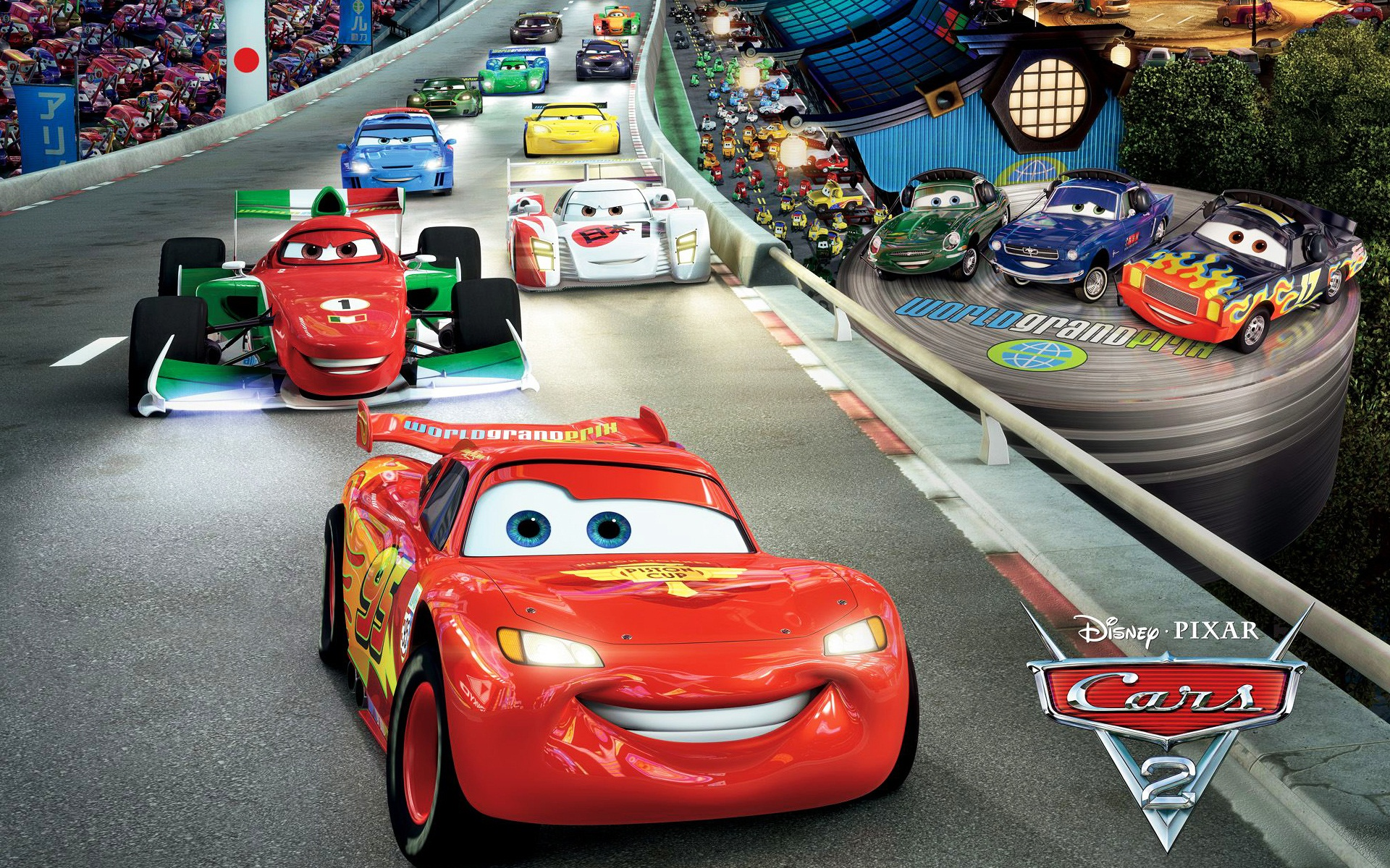 Cars 2 Wallpapers Wallpaper Cave