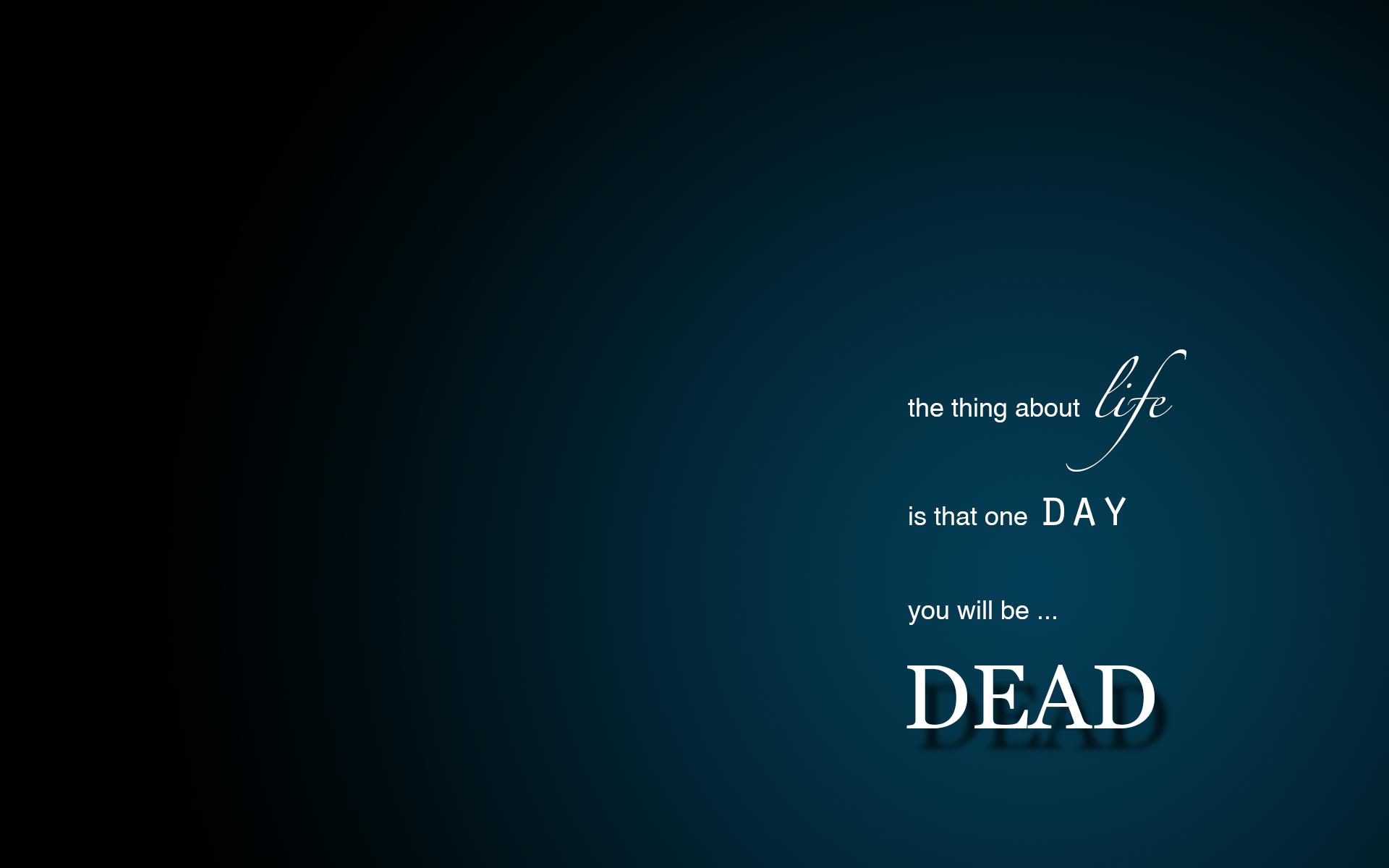 Cool Wallpapers With Quotes About Life