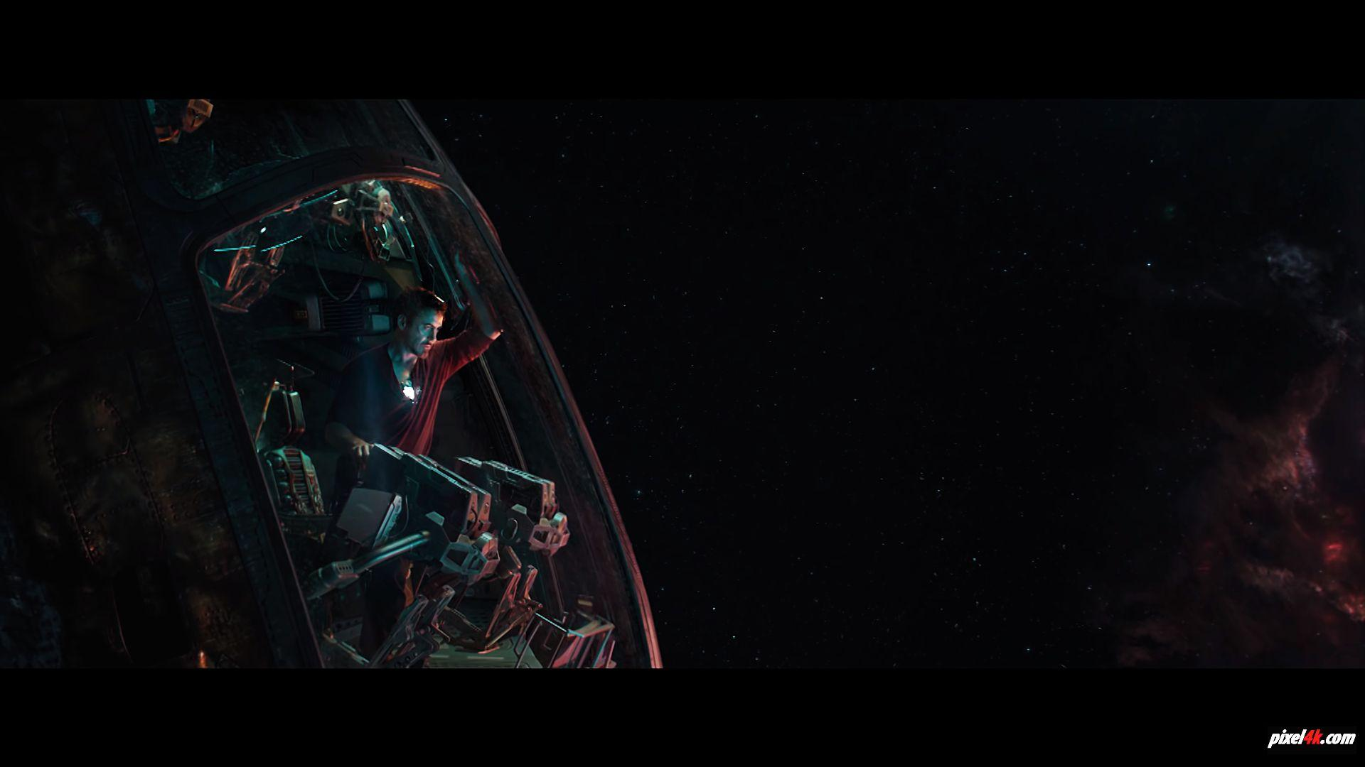 Avengers 4 End Game wallpapers Tony Stark In Space wallpapers