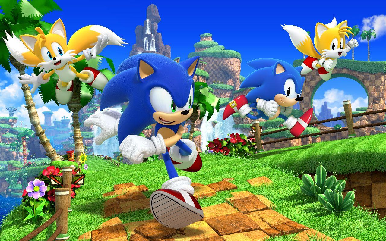 Green Hill Zone Wallpapers Wallpaper Cave