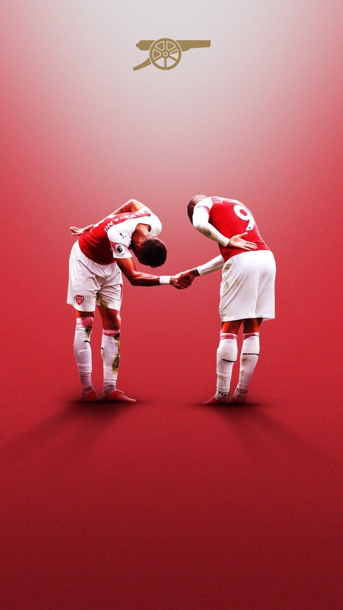 lacazette and aubameyang wallpapers