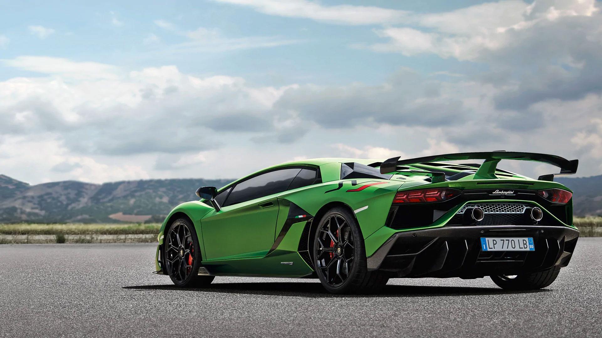 Lamborghini Aventador Svj Wallpapers Wallpaper Cave