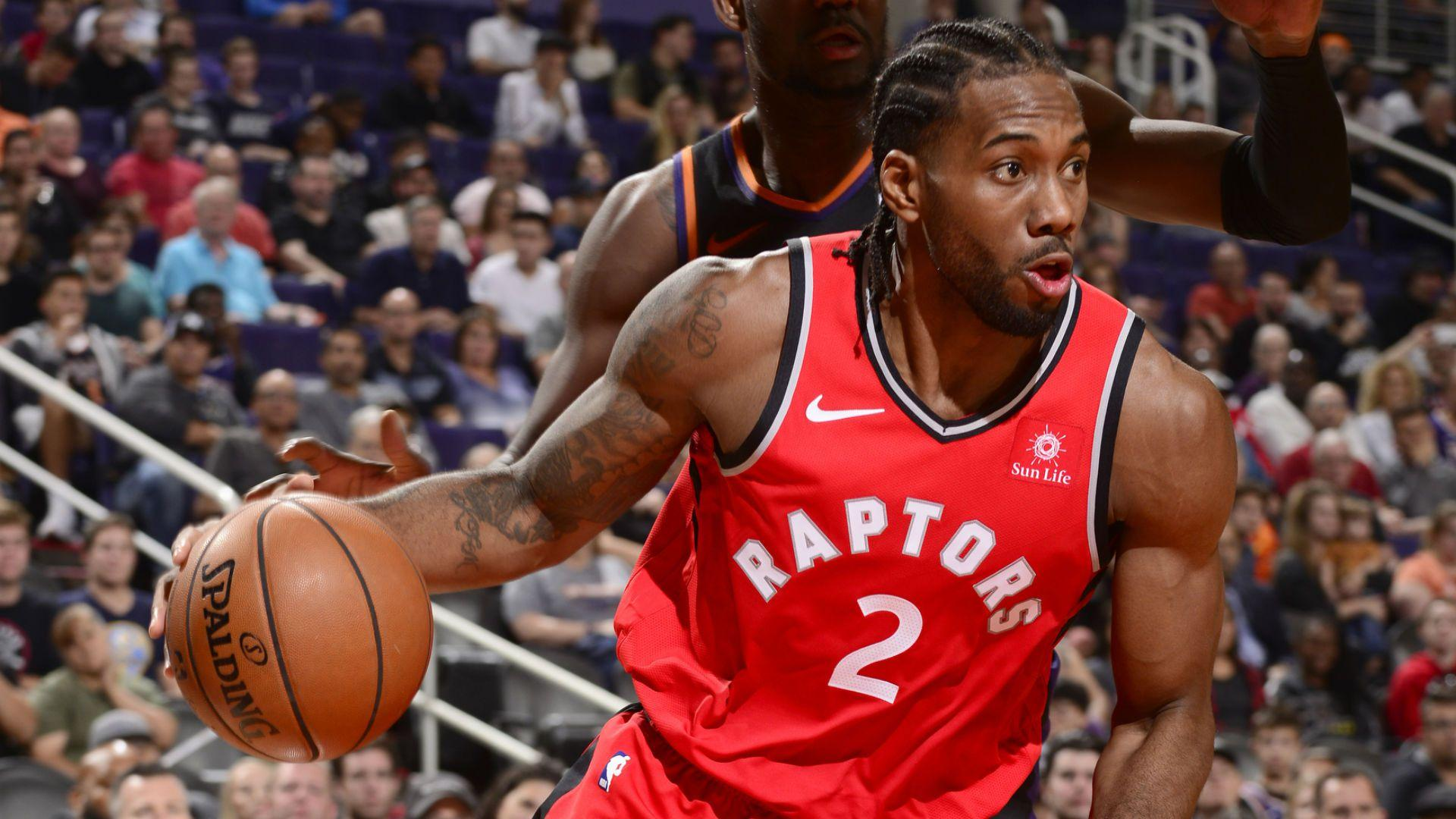 Kawhi Leonard has agreed a shoe deal with New Balance