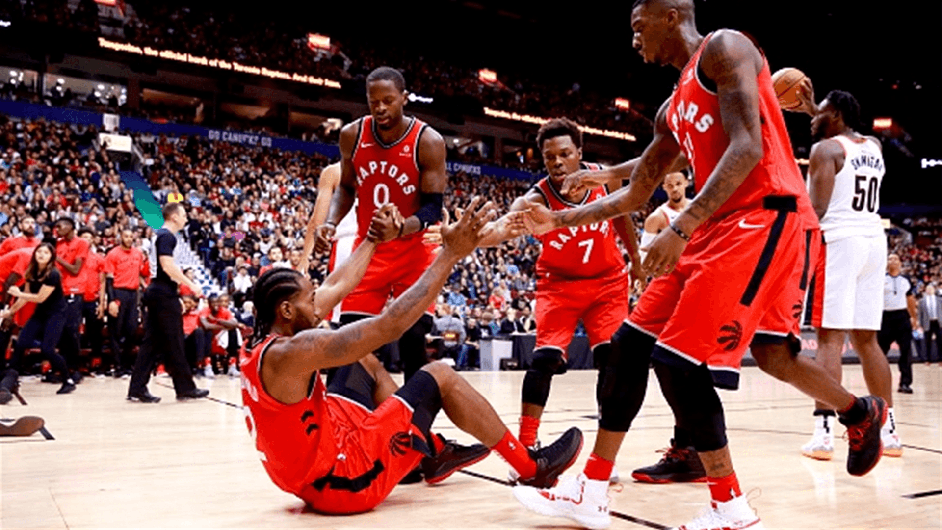 Today's game: Raptors make preseason home debut