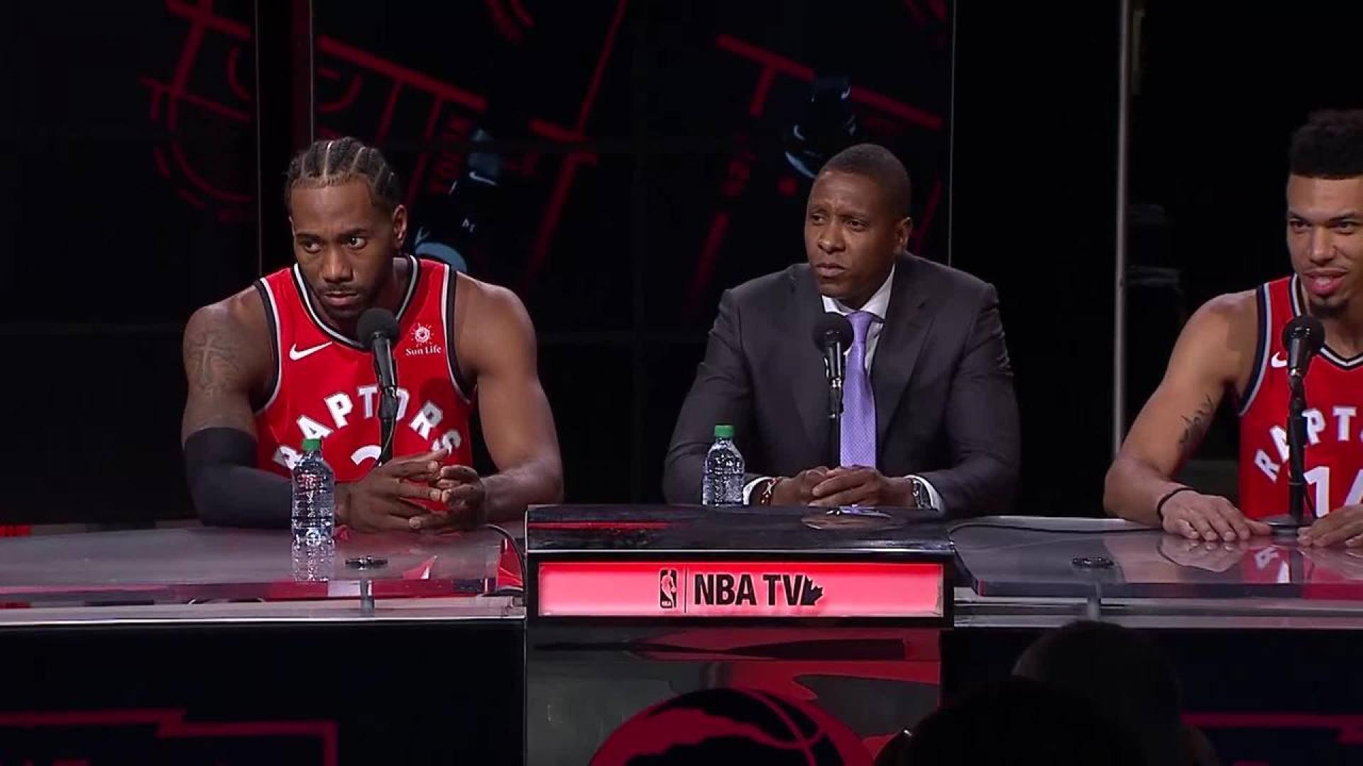 Kawhi Leonard focused on this season with Toronto Raptors
